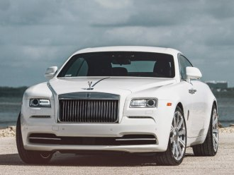 Rent Rolls Royce Wraith White